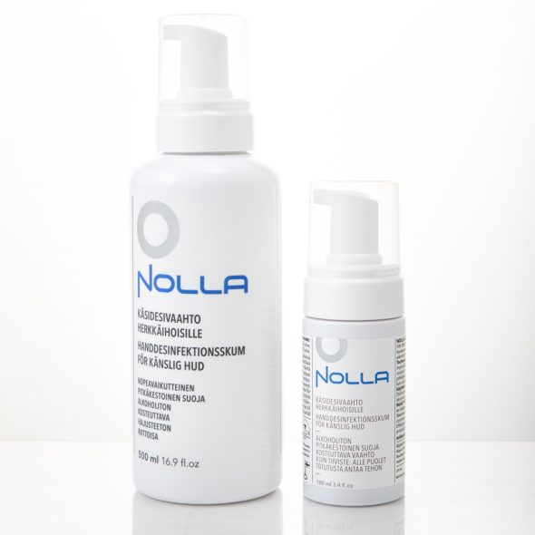 Nolla hand sanitizer was most preferred winning the test