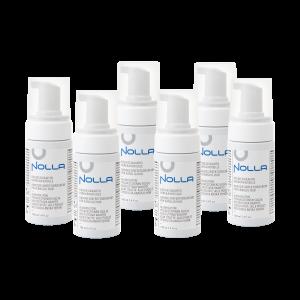 Nolla Antimicrobial 100 ml kuusi kappaletta käsidesivaahto