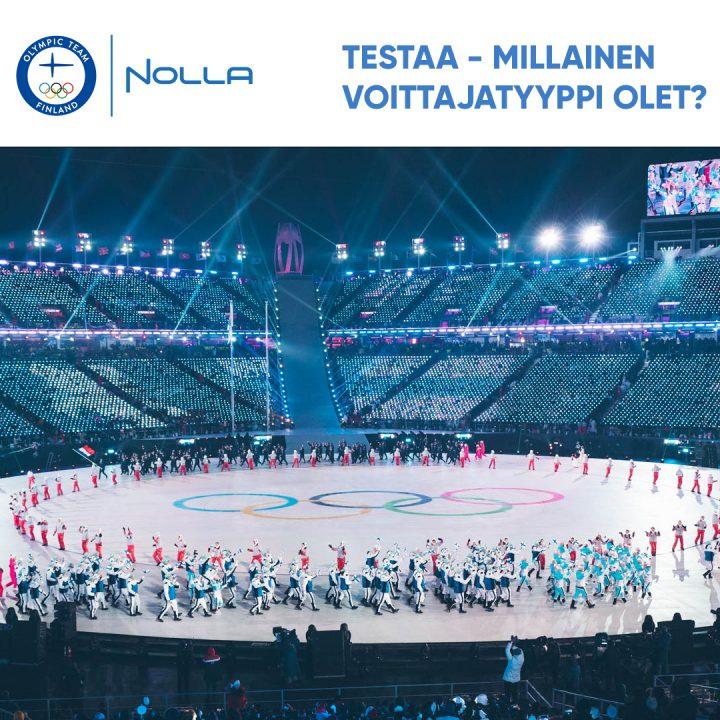 Nolla Antimicrobial on Suomen olympiajoukkueen virallinen yhteistyökumppani